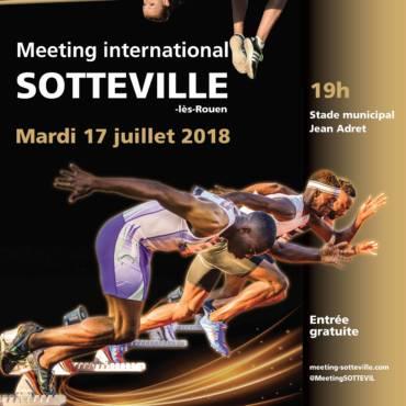 Et voici l'affiche officielle du Meeting 2018 !